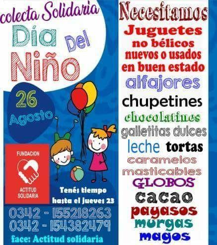 Piden juguetes para que los niños de la Com-Caia festejen el Día del Niño