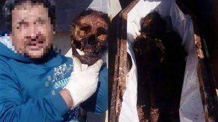 Indignación por la selfie con un muerto en el crematorio de Sunchales