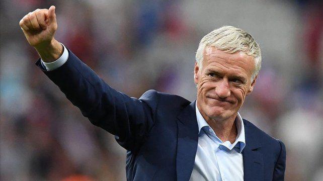 Deschamps seguirá como técnico de Francia hasta 2020