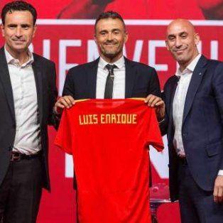 luis enrique fue presentado como nuevo dt de espana