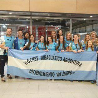 arranca el mundial de hockey subacuatico, con masiva presencia de regatas