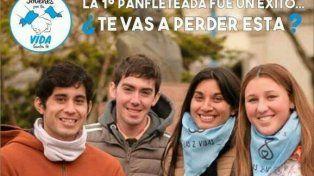 El domingo en la Costanera habrá una nueva panfleteada a favor de las dos vidas