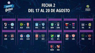 El programa completo de la Superliga 2018/19