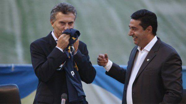 Macri está confiado en que Boca pueda ganar la Copa Libertadores