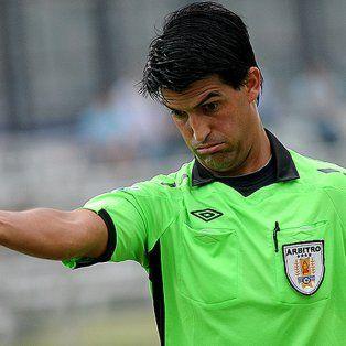 un arbitro uruguayo para el partido de ida entre san pablo y colon