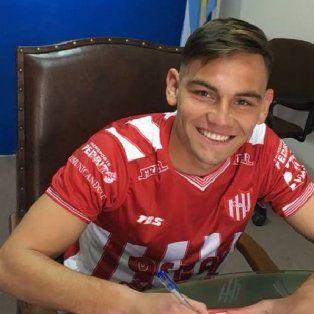franco godoy firmo su primer contrato en union