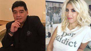 Mirtha Legrand contó detalles de la noche de pasión entre Wanda Nara y Diego Maradona: No se podía dormir del ruido