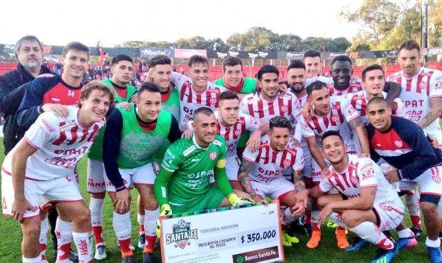 Unión le ganó a Newells en Rosario y es semifinalista de la Copa Santa Fe