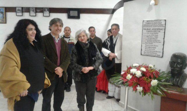 Rincón celebró el centenario de su Biblioteca Popular Domingo Guzmán Silva