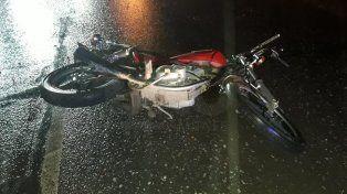 Murió un motociclista en un violento choque en Monte Vera