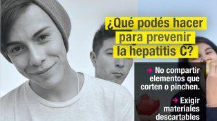 Campaña para difundir la importancia de hacerse el test de hepatitis