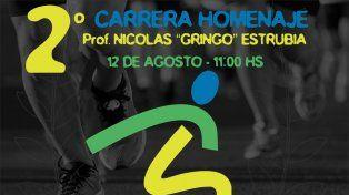 Nueva maratón homenaje al Gringo Estrubia, víctima de un cuádruple femicidio
