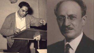 Homenajes a Juan José Castro y Vicente Scaramuzza
