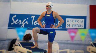 Julia Sebastián agiganta su historia en la natación argentina