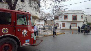 Se incendió una vivienda en barrio Parque Juan de Garay