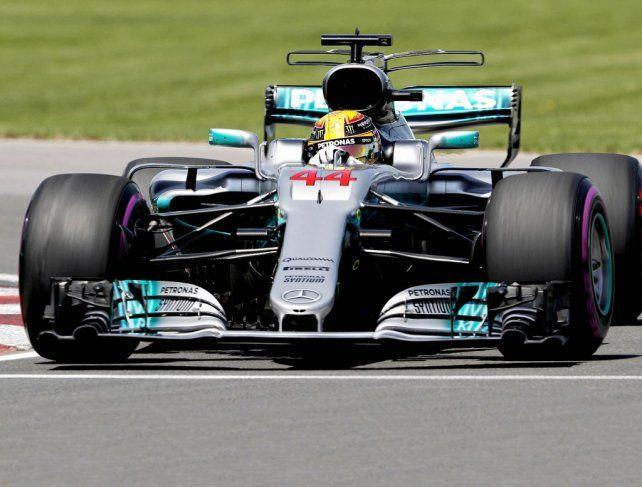 Hamilton partirá primero en Hungría