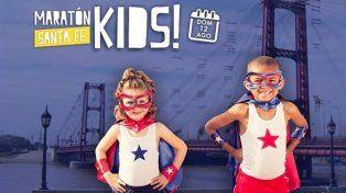 Maratón Santa Fe Kids: ¡Últimos días para inscribirte con descuento!