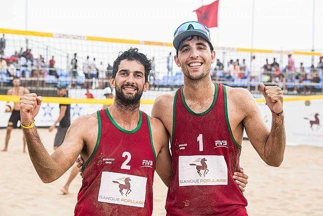 Capogrosso y Azaad lograron su primera medalla en el World Tour FIVB
