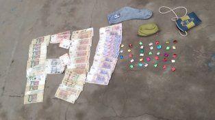 Rosario: Aprehendieron a una pareja vendiendo cocaína fraccionada en un barrio