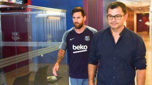 Leo Messi se sumó a la pretemporada del Barcelona