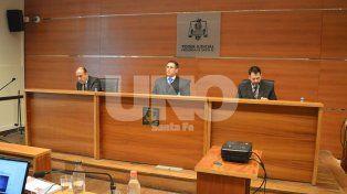 Definición. Los tres jueces que fallaron a favor del pedido de la Fiscalía.