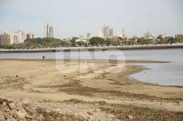 Paraná: la bajante fue mayor a lo esperado y así luce la laguna Setúbal