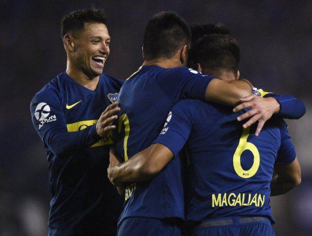 Boca expuso su jerarquía y aplastó a Alvarado en la Copa Argentina