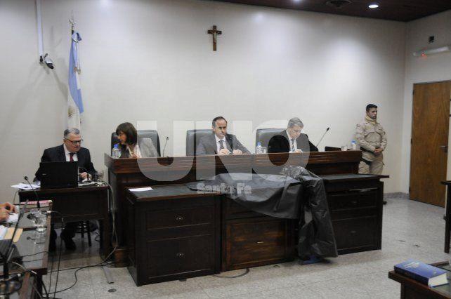 El tribunal. María Ivón Vella