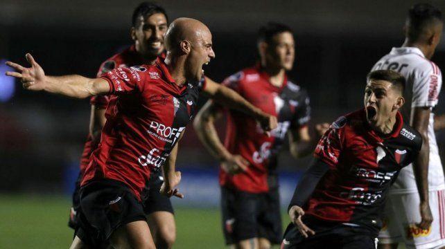 Matías Fritzler, el héroe en San Pablo: Vi el gol bastantes veces