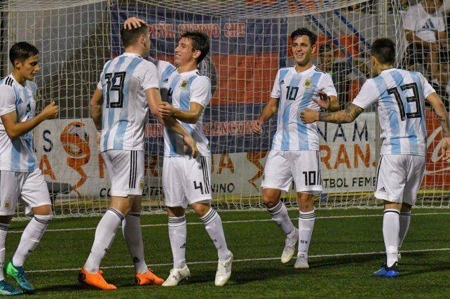 Argentina derrotó a Mauritania y clasificó a las semifinales del torneo de LAlcúdia