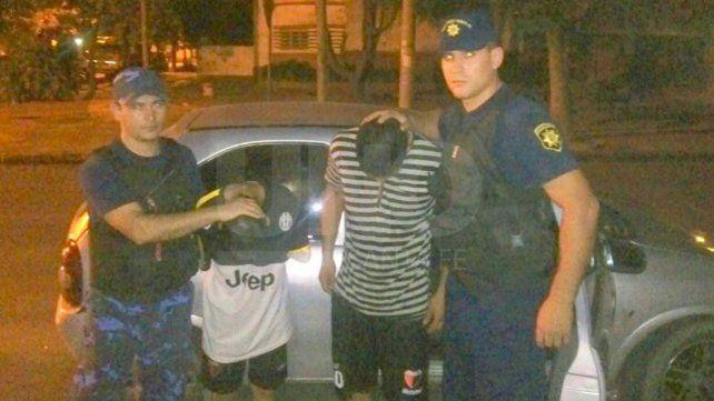 Detuvieron a dos delincuentes que intentaron robar en una casa en Colastiné