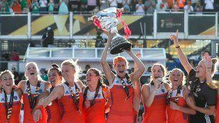 Holanda aplastó a Irlanda y se coronó bicampeón del mundo en Londres