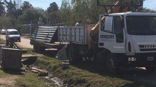 Por falta de pago de Nación, se detuvo la nueva planta de agua en Recreo