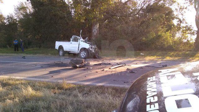 Un violento choque sobre la ruta 11 dejó como saldo un muerto