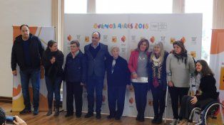 Se presentó la llegada de la Antorcha Olímpica a Santa Fe