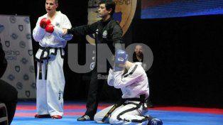 Bruno Bianchi, el nuevo campeón mundial de taekwondo