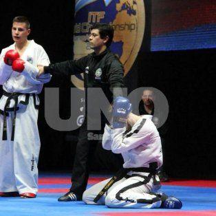 bruno bianchi, el nuevo campeon mundial de taekwondo