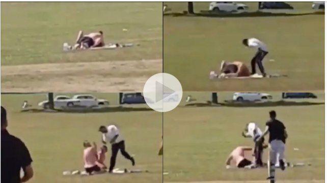Tenían sexo en un campo de deportes frente a chicos, hasta que un padre se sacó