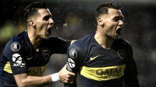 Boca se hizo fuerte de local y derrotó a Libertad por Copa Libertadores