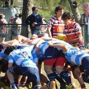 mucha actividad en el rugby local