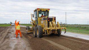 La provincia avanza en la transformación de la ruta provincial 6