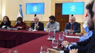 Encuentro. La ministra se reunió con Lifschitz en Rosario.
