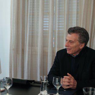 El encuentro fue en la residencia de Olivos.
