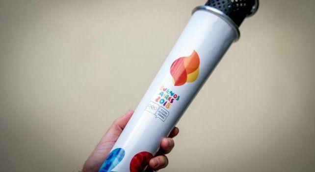Histórico: la Antorcha Olímpica de la Juventud estará esta tarde por primera vez en Santa Fe