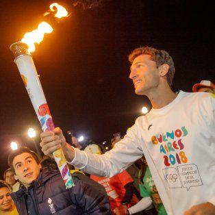 lo que dejo el paso de la antorcha olimpica en santa fe