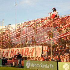 Los barras de Unión sancionados en el Mundial estuvieron el sábado en la cancha