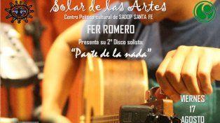 Fer Romero, en el Solar de las Artes