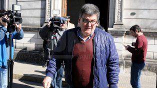 Ni una palabra. Lujan, al salir del juzgado federal, cruzó calle 9 de Julio y no habló con la prensa.