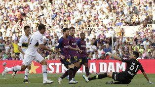 el barcelona no le dio chances a boca en el camp nou