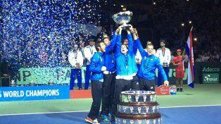 Se aprobó el nuevo formato de la Copa Davis